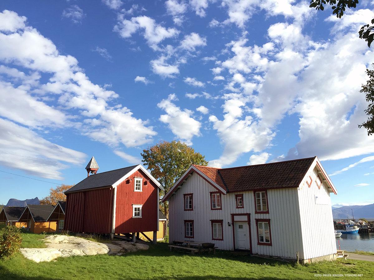gamle trebygg, historisk, severdighet i Hamarøy