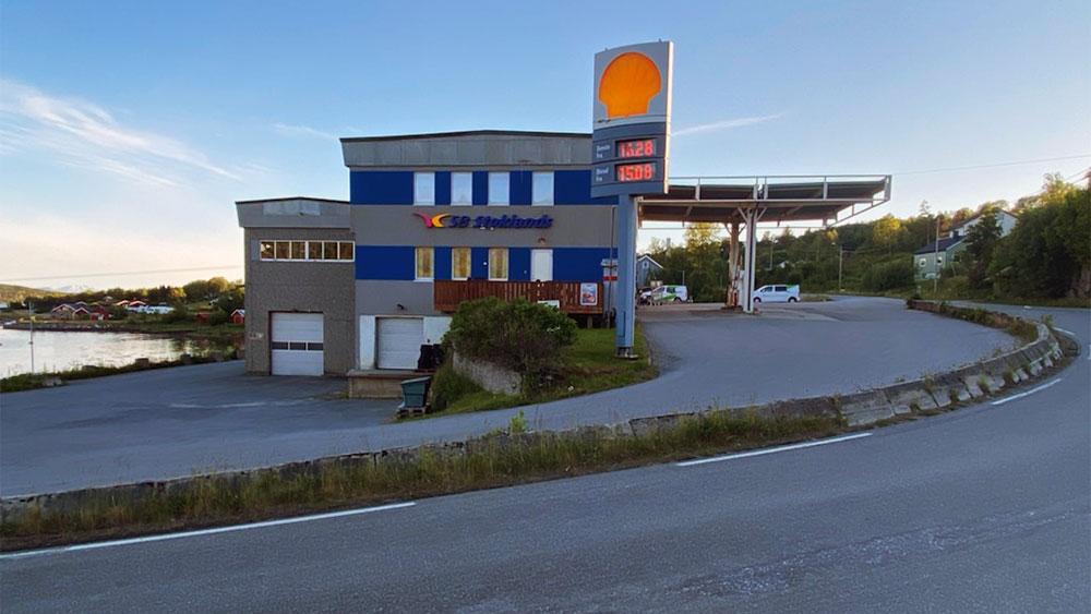 bensinstasjon verksted service Hamarøy