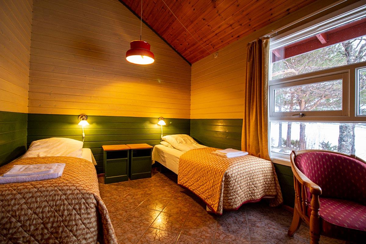 motellrom overnatting i Hamarøy